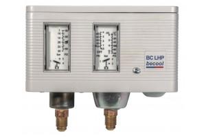 BC LHP: сдвоенное реле давления (автоматический возврат)